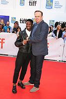 LAMAR JOHNSON AND PETER MACKENZIE - RED CARPET OF THE FILM 'KINGS' - 42ND TORONTO INTERNATIONAL FILM FESTIVAL 2017