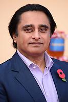 "Sanjeev Bhaskar<br /> at the ""Paddington 2"" premiere, NFT South Bank,  London<br /> <br /> <br /> ©Ash Knotek  D3346  05/11/2017"