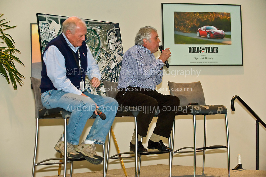 Brian Redman speaks at the Road & Track luncheon. <br /> 22-25 January, 2009, Daytona Beach, Florida USA..©F.Peirce Williams 2009.F.Peirce Williams.photography