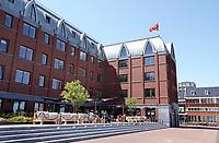 Nederland  Amsterdam 2020. Nieuwbouw bij de Houthaven . Hotel Boot&Co.  Foto Berlinda van Dam / Hollandse Hoogte