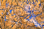 fractured rock, relief, line, shape, color, near Siyeh Pass, Glacier National Park, Rocky Mountains, Montana, USA