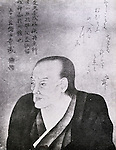 Undated - Koan Ogata (1810-1863) was a Japanese physician in the Edo period. He is known for importing Western medical knowledge into Japan and for establishing the Tekijuku school that later developed into Osaka University in 1938. (Photo by Kingendai Photo Library/AFLO)