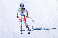 13th February 2021, Cortina, Italy; FIS World Championship Womens Downhill Skiing; Lara Gut Behrami of Switzerland in action