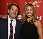 """Jeffrey Kaplan and Amanda Green attends the Broadway Opening Night After Party for """"Kiss Me, Kate""""  at Studio 54 on March 14, 2019 in New York City."""
