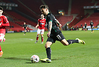 Dom Telford of Plymouth Argyle during Charlton Athletic vs Plymouth Argyle, Emirates FA Cup Football at The Valley on 7th November 2020