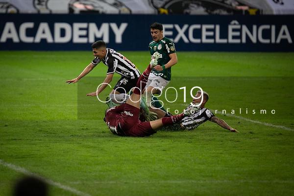 Belo Horizonte (MG) 14/08/21 - Atlético-MG-Palmeiras - partida entre Atlético-MG e Palmeiras , válida pela décima  sexta rodada do Campeonato Brasileiro no Estadio Mineirão em Belo Horizonte neste sábado (14)