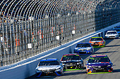 Monster Energy NASCAR Cup Series<br /> ISM Connect 300<br /> New Hampshire Motor Speedway<br /> Loudon, NH USA<br /> Sunday 24 September 2017<br /> Daniel Suarez, Joe Gibbs Racing, Comcast / ARRIS Toyota Camry and Denny Hamlin, Joe Gibbs Racing, FedEx Ground Toyota Camry<br /> World Copyright: Nigel Kinrade<br /> LAT Images