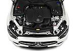 Car Stock 2021 Mercedes Benz E-Class AMG-Line 5 Door Wagon Engine  high angle detail view