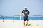 Marcelo Mendes (JPN),<br /> APRIL 20, 2014 - Beach Soccer :<br /> Beach Soccer Japan national team candidates training camp in Okinawa, Japan. (Photo by Wataru Kohayakawa/AFLO)