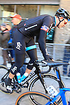 Ian Stannard (GBR) Team Sky at sign on before the start of the 2015 Strade Bianche Eroica Pro cycle race running 200km over the white gravel roads from San Gimignano to Siena, Tuscany, Italy. 7th March 2015<br /> Photo: Eoin Clarke www.newsfile.ie
