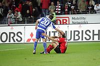 Sotirios Kyrgiakos (Eintracht Frankfurt) und Alexander Iashvili (Karlsruher SC)