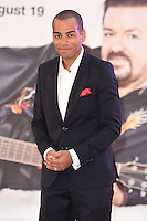 """Ben Bailey Smith<br /> arrives for the """"David Brent: Life on the Road"""" premiere at the Odeon Leicester Square, London.<br /> <br /> <br /> ©Ash Knotek  D3143  10/08/2016"""