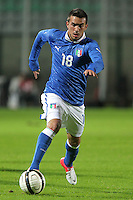 "Nicola Sansone.Siena 13/11/2012 Stadio ""Franchi"".Football Calcio Nazionale U21.Italia v Spagna.Foto Insidefoto Paolo Nucci."