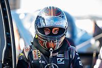 Jul 28, 2017; Sonoma, CA, USA; NHRA funny car driver Jonnie Lindberg during qualifying for the Sonoma Nationals at Sonoma Raceway. Mandatory Credit: Mark J. Rebilas-USA TODAY Sports