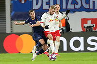 Konrad Laimer of RB Leipzig and Harry Winks of Tottenham Hotspur during RB Leipzig vs Tottenham Hotspur, UEFA Champions League Football at the Red Bull Arena on 10th March 2020