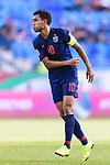 Teerasil Dangda of Thailand reacts during the AFC Asian Cup UAE 2019 Group A match between Bahrain (BHR) and Thailand (THA) at Al Maktoum Stadium on 10 January 2019 in Dubai, United Arab Emirates. Photo by Marcio Rodrigo Machado / Power Sport Images