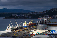 CentrePort in Wellington, New Zealand on Friday, 29 May 2020. Photo: Dave Lintott / lintottphoto.co.nz