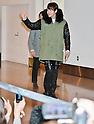 Korean actor Jang Geun-suk arrives in Japan