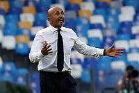 11th September 2021; Maradona Stadium, Naples, Italy; Serie A football, SSC Napoli versus Juventus  FC: Luciano Spalletti coach of Napoli