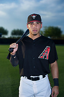 AZL Diamondbacks Jancarlos Cintron (6) poses for a photo before a game against the AZL Padres 2 on August 29, 2017 at Salt River Fields at Talking Stick in Scottsdale, Arizona. AZL Diamondbacks defeated the AZL Padres 2 4-3. (Zachary Lucy/Four Seam Images)