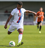 Fraizer Campbell of Crystal Palace during the Friendly match between Barnet and Crystal Palace at The Hive, London, England on 11 July 2015. Photo by David Horn.