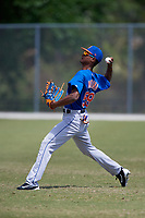 New York Mets Jose Miguel Medina (59) during practice before a minor league Spring Training game against the Miami Marlins on March 26, 2017 at the Roger Dean Stadium Complex in Jupiter, Florida.  (Mike Janes/Four Seam Images)