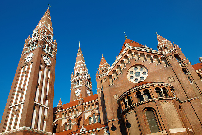 Voitive Cathedral of Szeged, Dom Square, Hungary