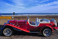 - New Jersey, car on waterfront of Ocean Grove....- New Jersey, auto sul lungomare di Ocean Grove