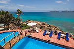 Seychelles, Island La Digue, Anse Patates: Hotel Patatran - pool
