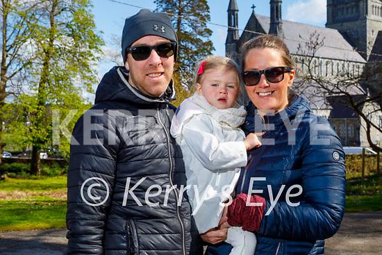 Enjoying a stroll in the Demesne in the Killarney National park on Saturday, l to r:  John, Fiadh and Michelle Cronin.