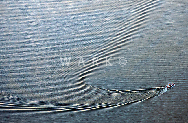 Wake from boater on Lake Pueblo. June 2014. 85029
