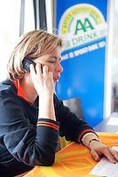 15-3-09, Rotterdam, Nationale Overdekte Jeugdkampioenschappen 12 en 18 jaar, wedstreidlijding