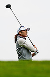 Min-Sun Kim of Korea in action during the Hyundai China Ladies Open 2014 on December 12 2014 at Mission Hills Shenzhen, in Shenzhen, China. Photo by Li Man Yuen / Power Sport Images