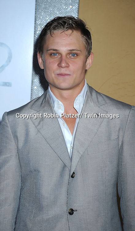 """Billy Magnussen posing for photographers at the world premiere of """"Sex and the City 2"""" on May 24, 2010 at Radio City Music Hall in New York City."""