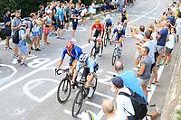 12th September 2021: Trento, Trentino–Alto Adige, Italy: UEC Road European Mens Elite Cycling Championships; The peleton