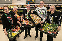 Pictured at Asda's Long Eaton store from left are the Rev Samantha Tredwell and Chrchwarden Fay Rumley of St John's Church, Asda Colleague Jon Coutts-Walker, Store Manager Fausto Lallo and Asda Colleague Samantha Thornton