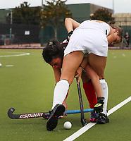 NZ Hockey Development Women v NZ Maori Women. Heritage Hockey Finals at Kolmar Hockey Turf in Auckland, New Zealand on Monday 5 April 2021 Photo: Simon Watts / bwmedia.co.nz