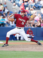 August 1 2008: Patrick McAnaney of the Yakima Bears, Short Season Class-A affiliate of the Arizona Diamondbacks, during a game at Home of the Avista Stadium in Spokane, WA.  Photo by:  Matthew Sauk/Four Seam Images