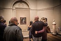 Washington  Smithsonian National Gallery of Art <br /> Leonardo da Vinci Ginevra de' Benci - tempera 1478