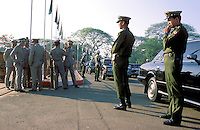 © Dermot Tatlow / Panos Pictures..Rangoon, BURMA. ..Burmese Army Generals, the rulers of the country now known as Myanmar.