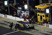 CONCORD, NORTH CAROLINA - MAY 25: Kyle Busch, driver of the #54 App State Class of 2020 Toyota, pits during the NASCAR Xfinity Series Alsco 300 at Charlotte Motor Speedway on May 25, 2020 in Concord, North Carolina. (Photo by Jared C. Tilton/Getty Images)