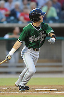 Nick Franklin during the Southern League Playoffs. West Tenn won the game 8-3 at Smokies Park, Kodak Tennessee. Photo By Tony Farlow/Four Seam Images.