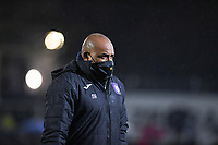 Anderlecht assistant coach Miguel Atilio pictured during a female soccer game between Sporting Charleroi and RSC Anderlecht on the third matchday of the 2020 - 2021 season of Belgian Scooore Womens Super League , friday 2 nd of October 2020  in Marcinelle , Belgium . PHOTO SPORTPIX.BE | SPP | DAVID CATRY