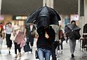 Heavy rain hits eastern Japan amidst rainy season