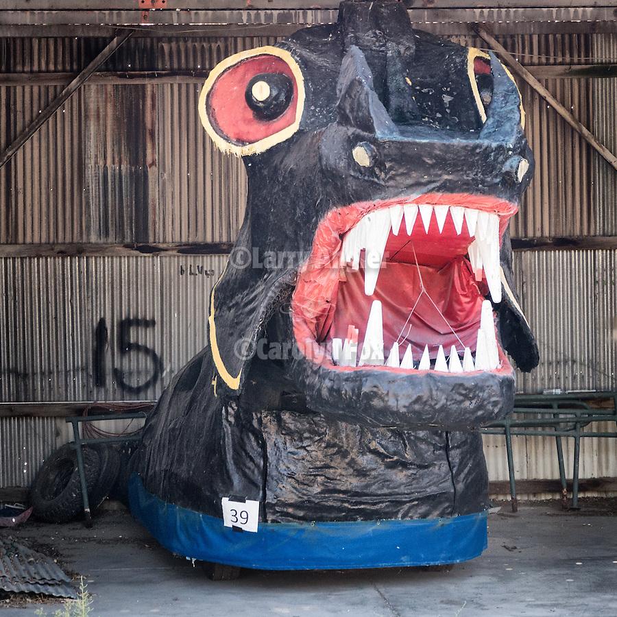 Cecil the Sea Serpent in hiatus,Hawthorne, Nevada
