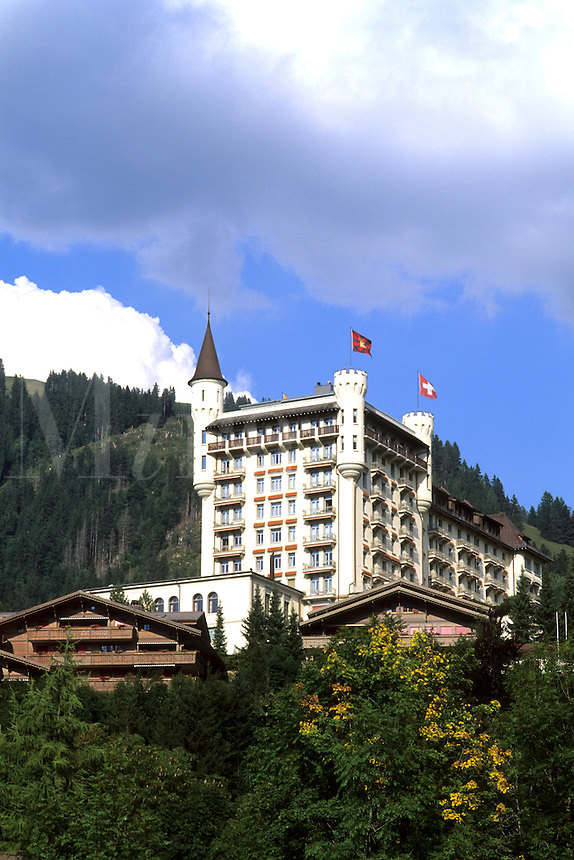 Switzerland the Good Expensive Life at the famous Palace Hotel in Gstaad Switzerland