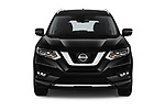 Car photography straight front view of a 2019 Nissan X-Trail Tekna 5 Door SUV