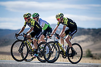 With strong crosswinds, the peleton fractures into many (9 through the feedzone) pockets of riders and makes for fierce racing form start to finish at a (very) high average speed (50.63 km/h).<br /> Esteban Chaves (COL/Mitchelton-Scott) is dropped from the first group after 90km's of hard racing.<br /> <br /> <br /> Stage 17: Aranda de Duero to Guadalajara (220km)<br /> La Vuelta 2019<br /> <br /> ©kramon
