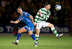 St Johnstone v Celtic...18.12.11   SPL .Gary Hooper and David McCracken.Picture by Graeme Hart..Copyright Perthshire Picture Agency.Tel: 01738 623350  Mobile: 07990 594431