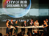 A 01 June 2009 file photo shows Lawrence Ho, CEO of Melco Crown Entertainment Ltd, on the opening day of the City of Dreams Casino, Macau, China, 01 June 2009.